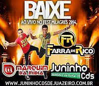 20 - FARRA DE RICO - MARQUIM DA MÍDIA -  JUNINHO CDS DE JUAZEIRO .mp3