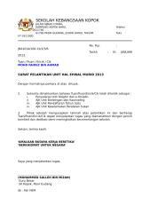 surat pelantikan  ajk hem 2013.docx