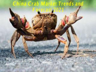 China Crab Market Trends and Forecast 2021.PDF