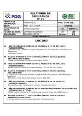 MBA_824 Relatório de Segurança nº 76- CANTEIRO.doc