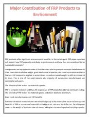 Major Contribution of FRP Products to Environment.pdf