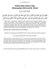 15 solawat yang diriwayatkan oleh sa'id ibn 'atorid.pdf