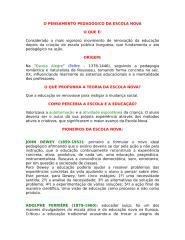 FAMA - O PENSAMENTO PEDAGÓGICO DA ESCOLA NOVA.doc