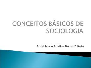 CONCEITOS BÁSICOS DE SOCIOLOGIA.ppt