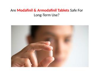 Modafinil & Armodafinil Tablets Genericmedsupply.pptx.pptx
