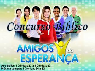 Concurso Bíblico 2011 - 19.ppt