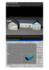 Create low poly house project.docx